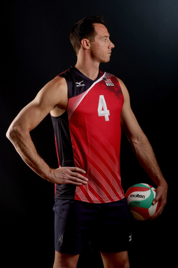 "David Lee is 6'8"" and plays indoor volleyball for Team USA."