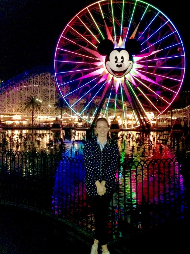 I cried a lot of happy tears. On and off, from the moment I walked in till I ended the night at the California Adventure lights show.