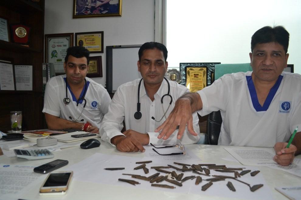 """Malhotra hat dem Patienten ein wertvollen Ratschlag gegeben: """"Wir haben ihm gesagt, wenn er mehr Eisen im Körper will, soll er es mit Spinat versuchen."""""""