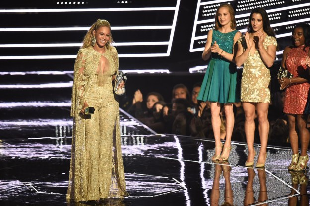 "The competition for the award was fierce, with folks like Rihanna, Adele, Sia, and Ariana Grande up for the honor, but it was Beyoncé who won for her video, ""Hold Up."""