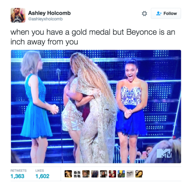 Because, c'mon, it's not every day that someone meets Beyoncé!