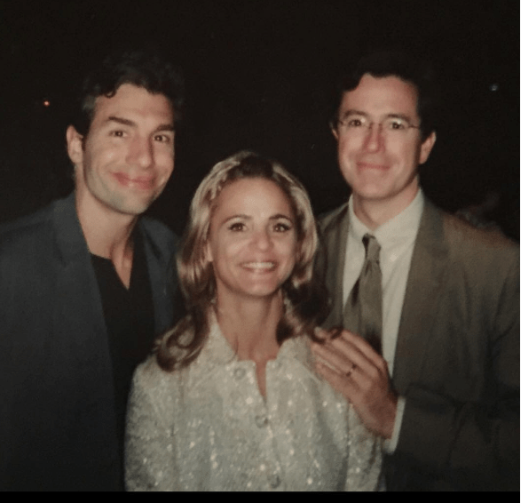 Amy Sedaris posted this late '90s photo of herself with her Strangers With Candy co-stars Paul Dinello and Stephen Colbert.