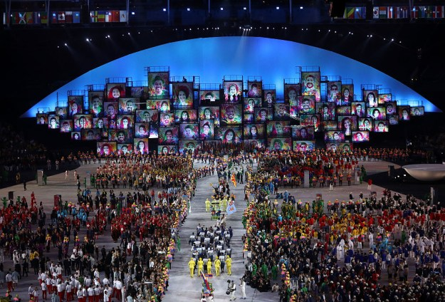 The parade of nations is always one of the best parts of the Olympics opening ceremony.