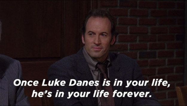 When Lorelai wrote a character reference for Luke so he could get custody of his daughter.