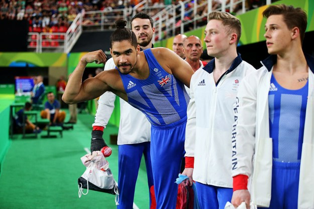 The men's gymnastics competition debuted at the Rio Olympics on Saturday, and people were grateful it was only Day 1.
