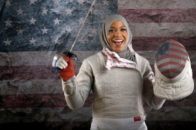 Meet Ibtihaj Muhammad, a 30-year-old internationally-ranked sabre fencer from Maplewood, New Jersey.