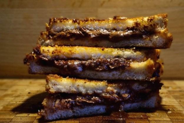 Jaffa cake toastie