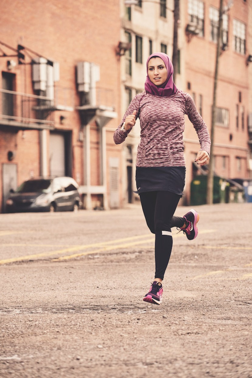 Khatib is passionate about running, but she might be even more passionate about the visibility of Muslims and hijabi women in her sport.