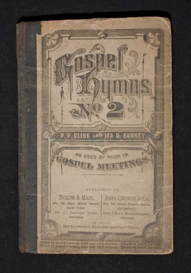 A book of hymns owned by Harriet Tubman.