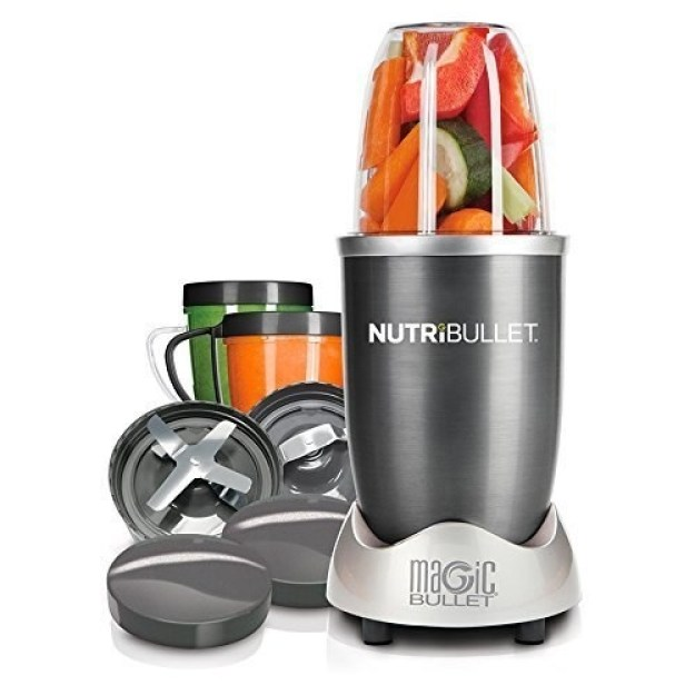 The NutriBullet, to effortlessly pulverize fruits and vegetables into a smoothie.