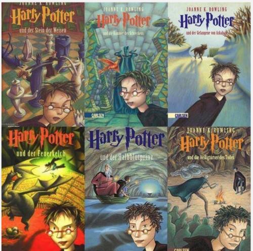 Diese Buch-Cover kennst Du sicher schon seit Deiner Kindheit.