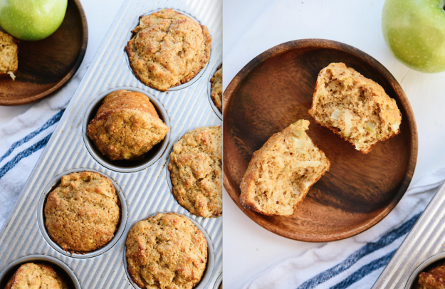 It's finally apple season! Try these better-for-you muffins.