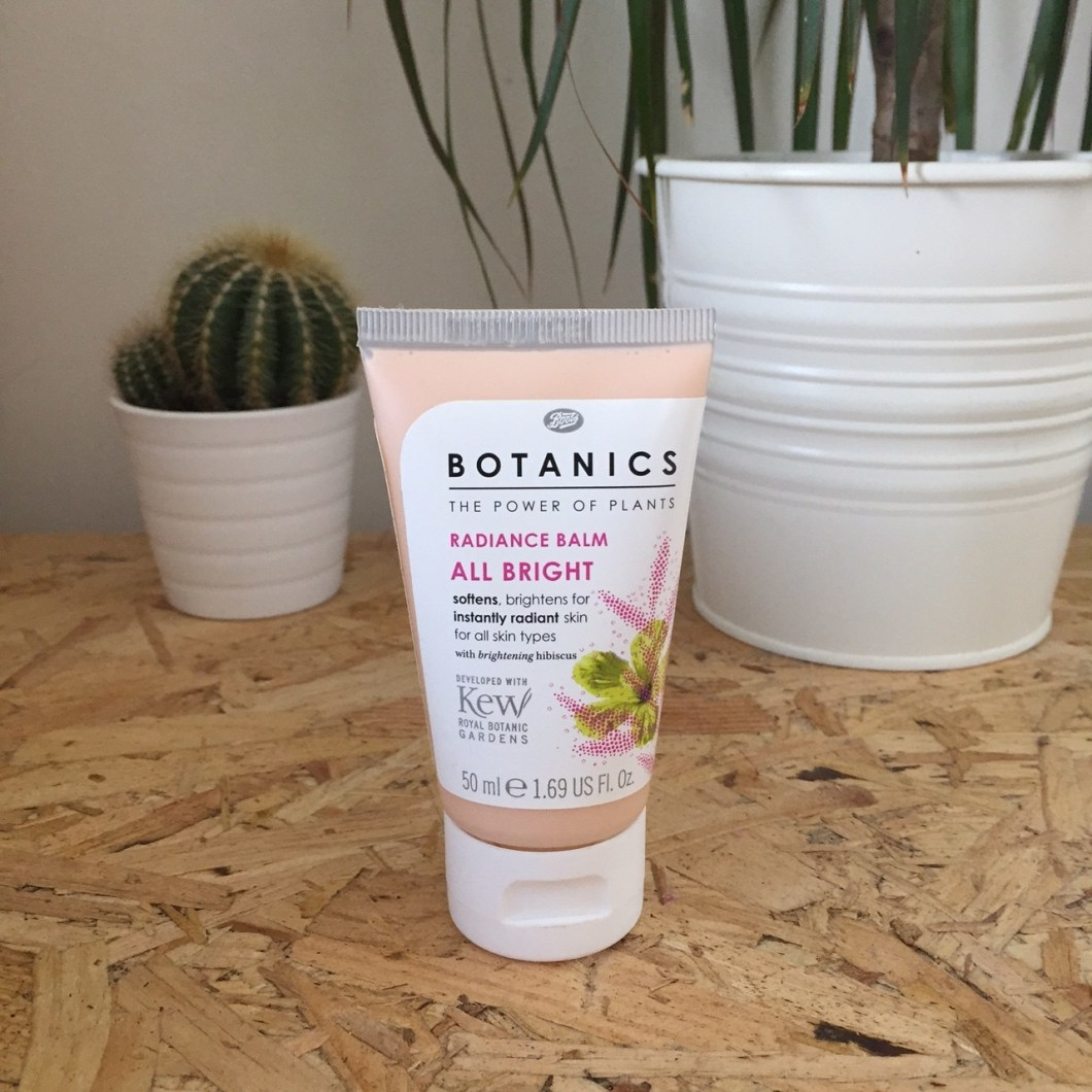Boots Botanics: Radiance Balm All Bright £2.50