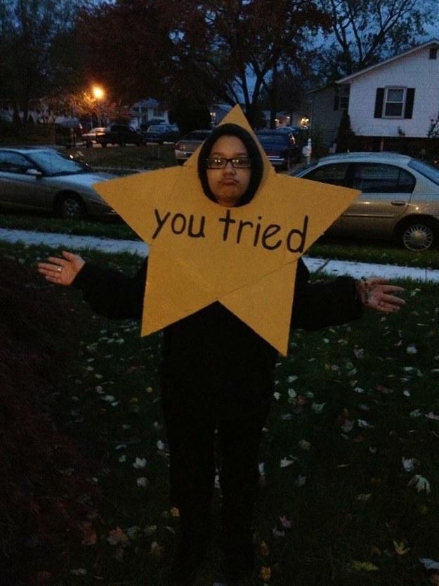 Una estrella de oro por tratar