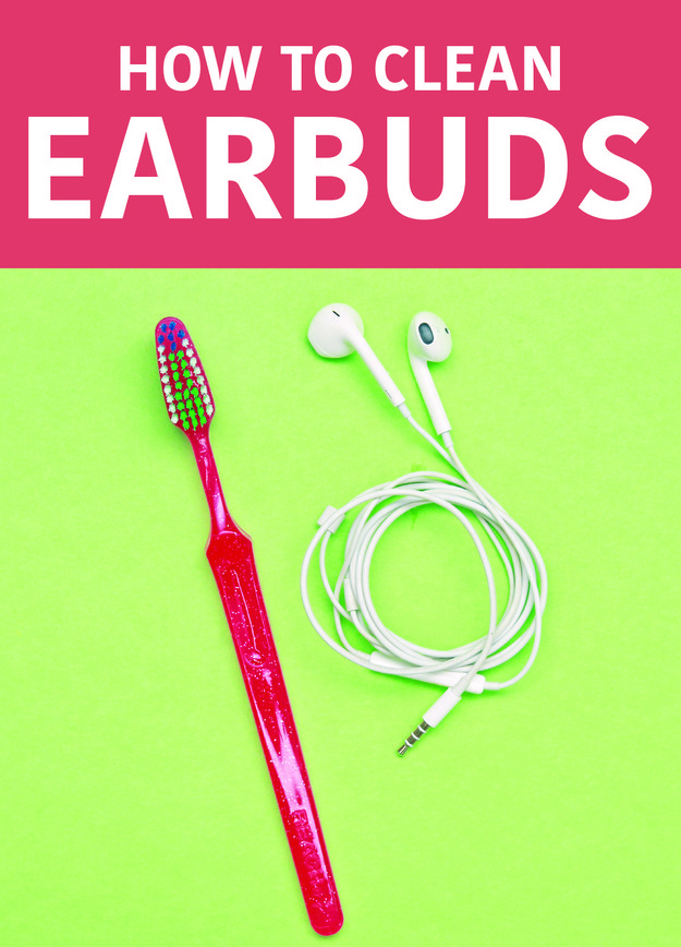 Wipe down your earbuds with rubbing alcohol, and dislodge any stuck earwax with a Q-Tip and toothbrush.