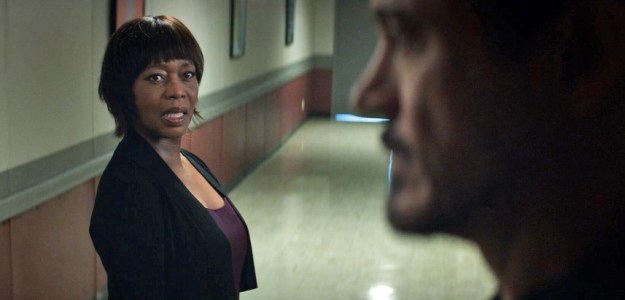 The actress Alfre Woodard, who plays councilwoman Mariah Dillard, has already appeared in the Marvel Universe.