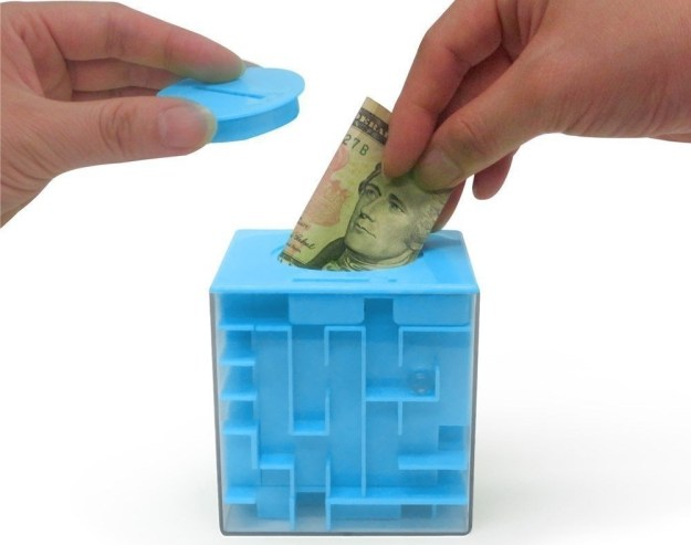 Money Maze can only be opened after you solve it.