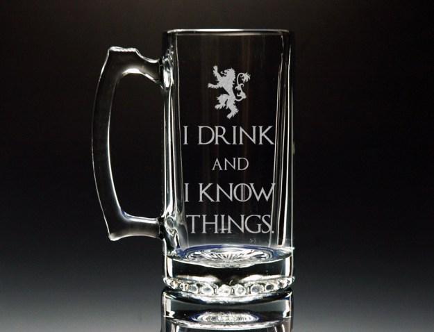 Egy maratott pohár elég sok a legjobb Tyrion idézet valaha rajta.