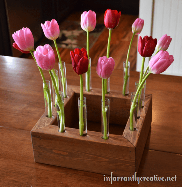 Put together a custom centerpiece perfect for displaying your garden's best blooms.
