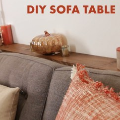 Behind The Sofa Table Rattan Set Clearance This Diy Adds Much Needed Storage A Couch