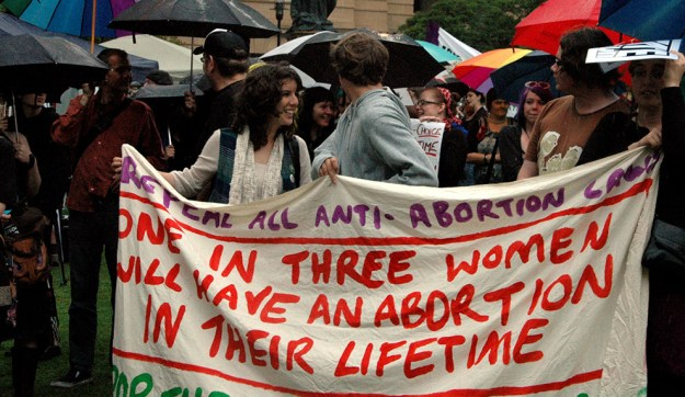 "Women terminating a pregnancy face significant financial, legal, and geographical barriers in Queensland, where abortion is still in the criminal code and only lawful to ""prevent serious danger to the woman's physical or mental health""."