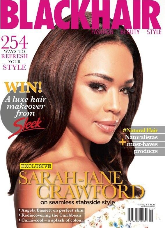 A Black Hair Magazine Said They Accidentally Used A White Model On Their Cover