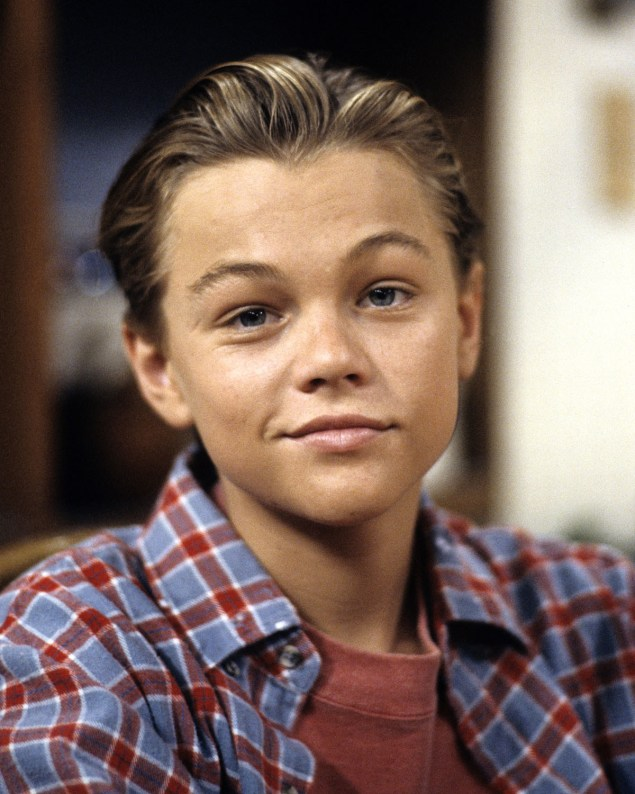 Leonardo DiCaprio as a 17 year old in 1991.