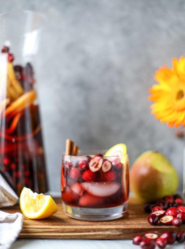 Cranberry-Chai Sangria