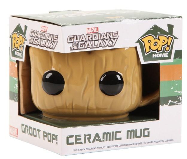 Or a mug that looks like Groot!