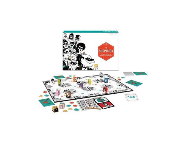 """A """"whodunit"""" board game for people who are sick of playing Clue."""
