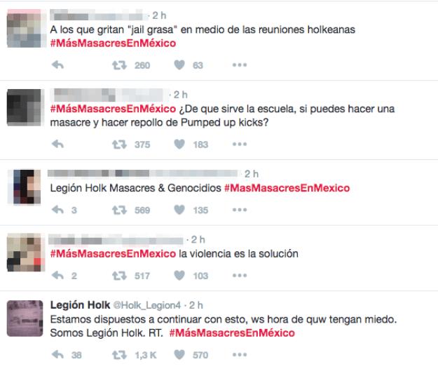 Horas más tarde, un terrible hashtag comenzó a trendear en Twitter.
