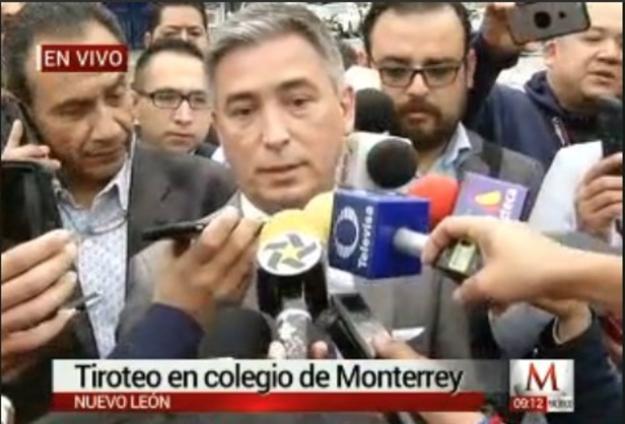 Esta mañana, el vocero de seguridad de Monterrey culpó a Internet de los hechos.