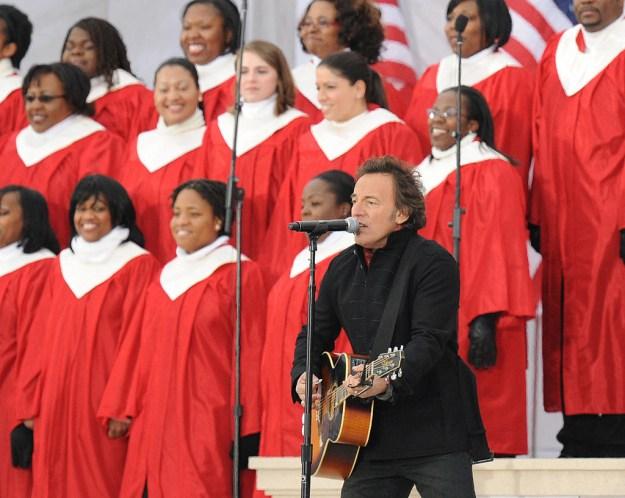 Obama: Bruce Springsteen