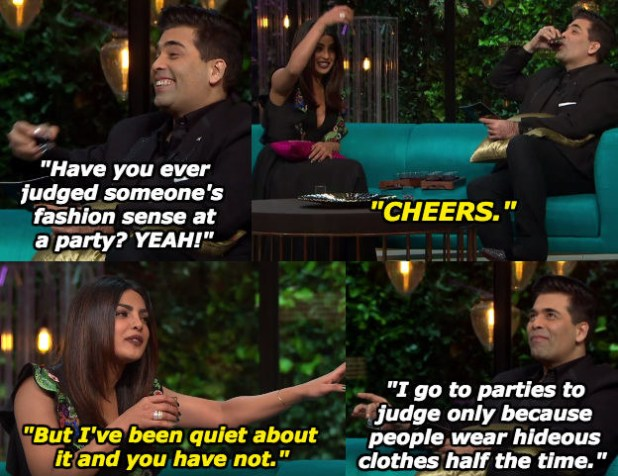 When Karan revelled in his pettiness.