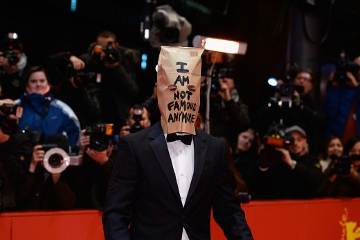 Image result for shia labeouf he will not divide us