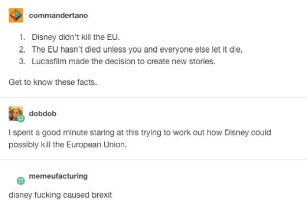 Disney voted Leave: