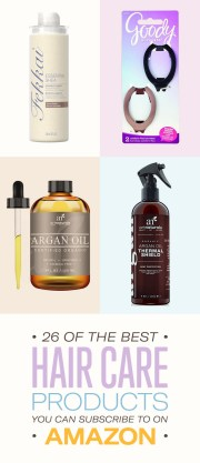 of hair care products