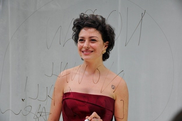 "When Alia Shawkat took the stage to present and said, ""As-salamu alaykum,"" an Arabic greeting that means, ""Peace be with you."""