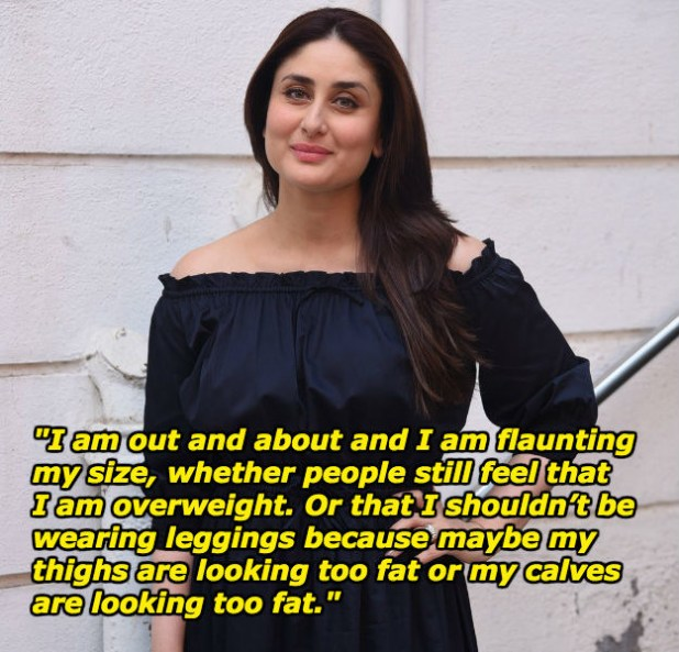 And she will not stop being the rockstar she is just because a handful of haters are shit talking about her size.