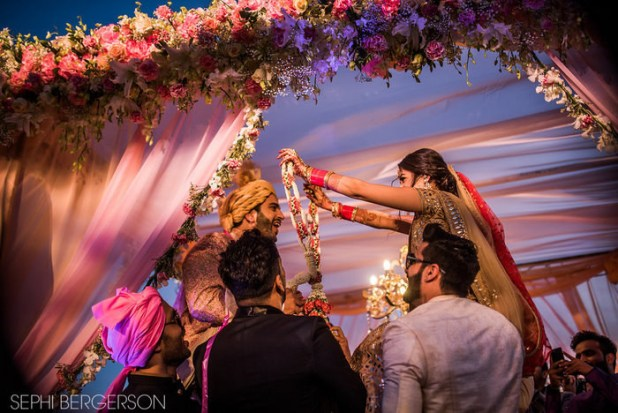 After the ceremony ended, cementing the couple's love for each other, the guests relaxed with cake and champagne, after a long and exciting four days.