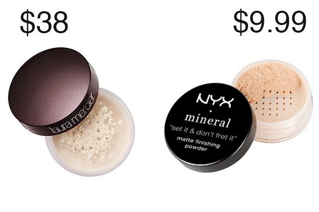 Alguns viciados em beleza, mesmo como NYX Mineral Matte Finishing Powder melhor do que Laura Mercier Translúcido Loose Setting Powder!