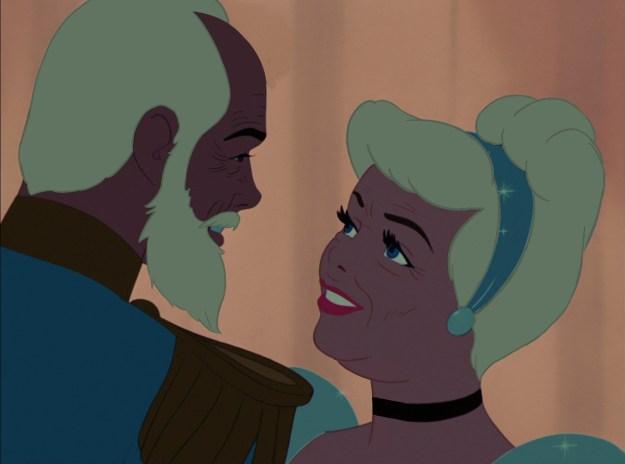 Prince Charming and Cinderella