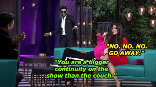 When his casual drop-by shook Katrina Kaif and Anushka Sharma.