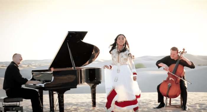 The Piano Guys joined forces with Shweta Subram, to create a beautiful new song by adding the melody of a Swedish House Mafia hit to Subram's original song.