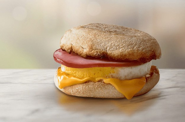 McDonald's — Egg McMuffin with Ham
