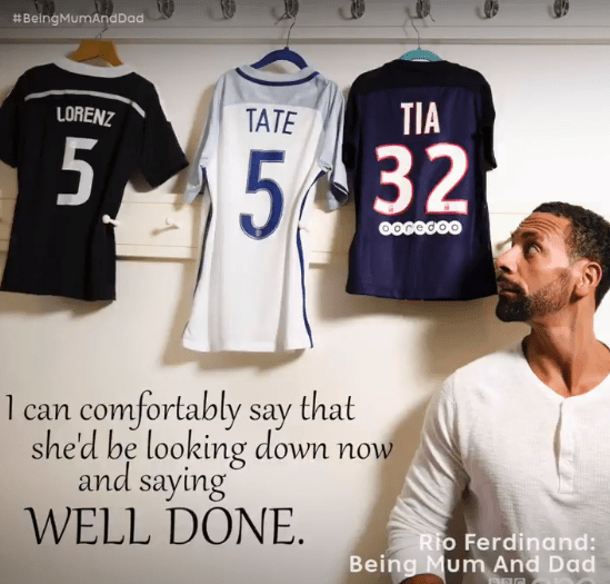 Last night Rio Ferdinand's documentary Rio Ferdinand: Being Mum and Dad aired on BBC One, two years after his wife Rebecca passed away from breast cancer at the age of 34.