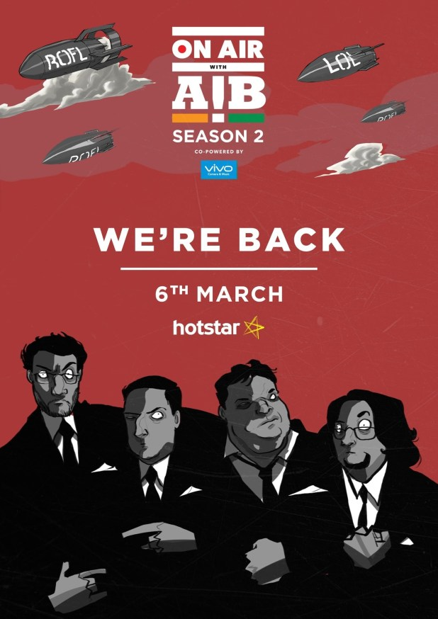 A couple of days ago, All India Bakchod announced that their news-comedy show On Air With AIB is coming back for its second season.