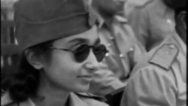 Captain Lakshmi Sahgal — Indian independence revolutionary.