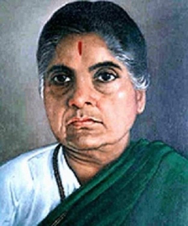 Durgabai Deshmukh – fervently fought for women's rights