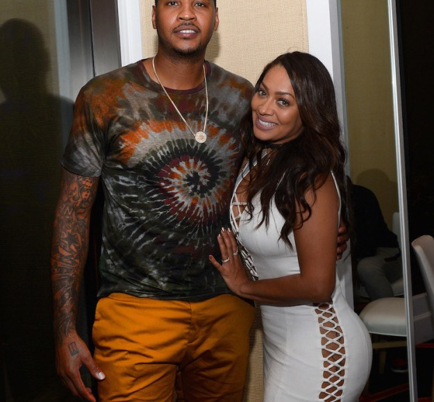 Waking up to news about Carmelo Anthony and La La reportedly calling it quits is not how I wanted to start my Tuesday, dammit!